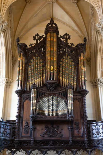 Organ at Chapel Royal