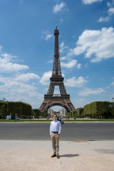 Eriech at Eiffel Tower
